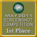 1st Place - Screenshot Competition (May 2011)