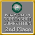 2nd Place - Screenshot Competition (May 2011)