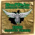 1000 Flights Award