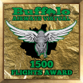1500 Flights Award