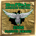 2500 Flights Award