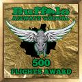 500 Flights Award