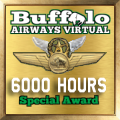 Given to pilots who have achieved the 6000 hours mark.