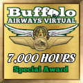 Given to pilots who have achieved the 7,000 hours mark.