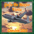Awarded upon completion of the Golfo de Mexico Visita - Octubre Tour