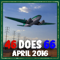 Awarded upon completion of 46 Does Route 66 April 2016