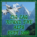 Awarded upon completion of the Alps Tour Sept 2015