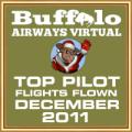 December 2011 - Top Pilot Award (Flights Flown)