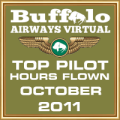 October 2011 - Top Pilot Award (Hours Flown)