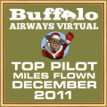 December 2011 - Top Pilot Award (Miles Flown)