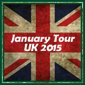 UK TOUR JANUARY 2015